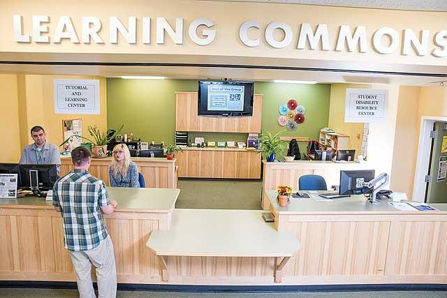 Tutoring services at the Learning Center